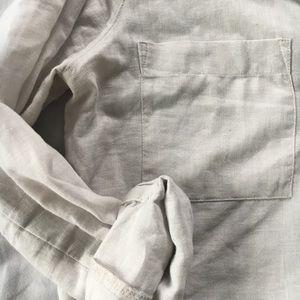 Old Navy Linen Vneck Tunic